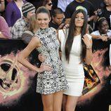 Kendall y Kylie Jenner en la premiére mundial de 'Los Juegos del Hambre'