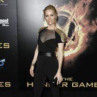 Leslie Mann en la premiére mundial de 'Los Juegos del Hambre'