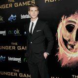 Liam Hemsworth en la premiére mundial de 'Los Juegos del Hambre'