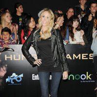 Tish Cyrus en la premiére mundial de 'Los Juegos del Hambre'