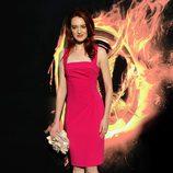 Amber Chaney en la premiére mundial de 'Los Juegos del Hambre'
