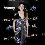 Shailene Woodley en la premiére mundial de 'Los Juegos del Hambre'