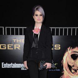 Kelly Osbourne en la premiére mundial de 'Los Juegos del Hambre'