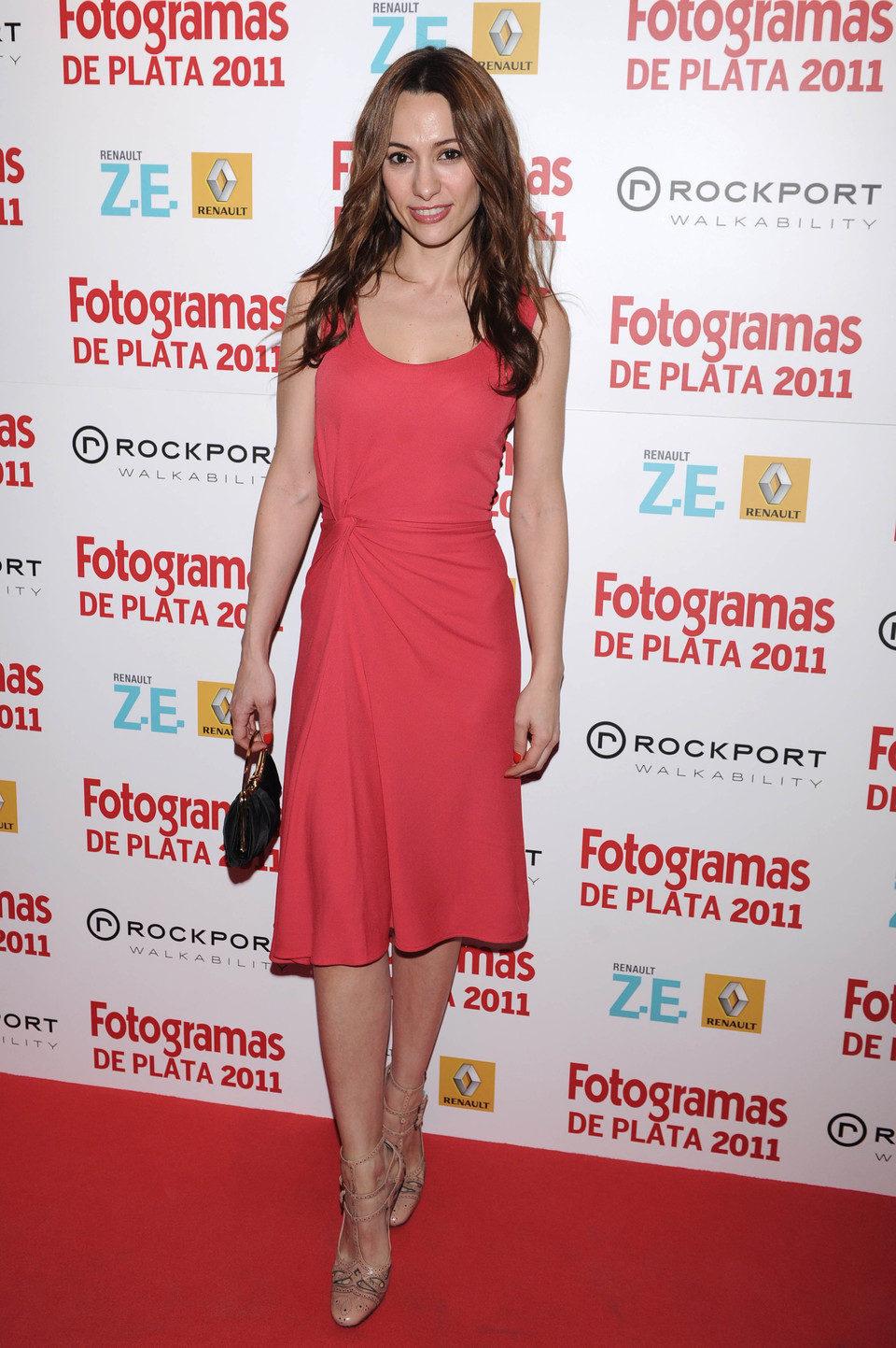 Natalia Verbeke en los Fotogramas de Plata 2011