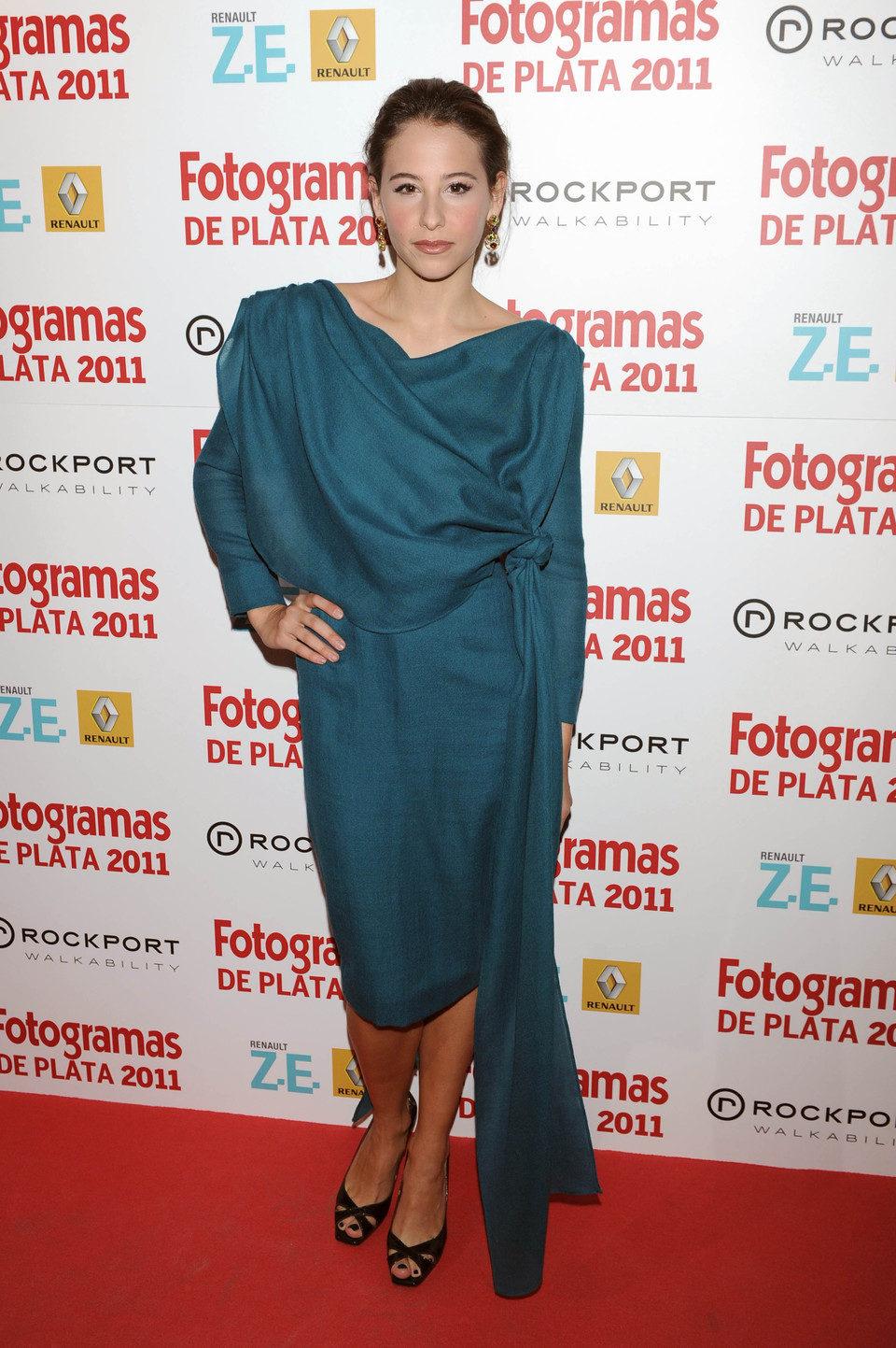 Irene Escolar en los Fotogramas de Plata 2011