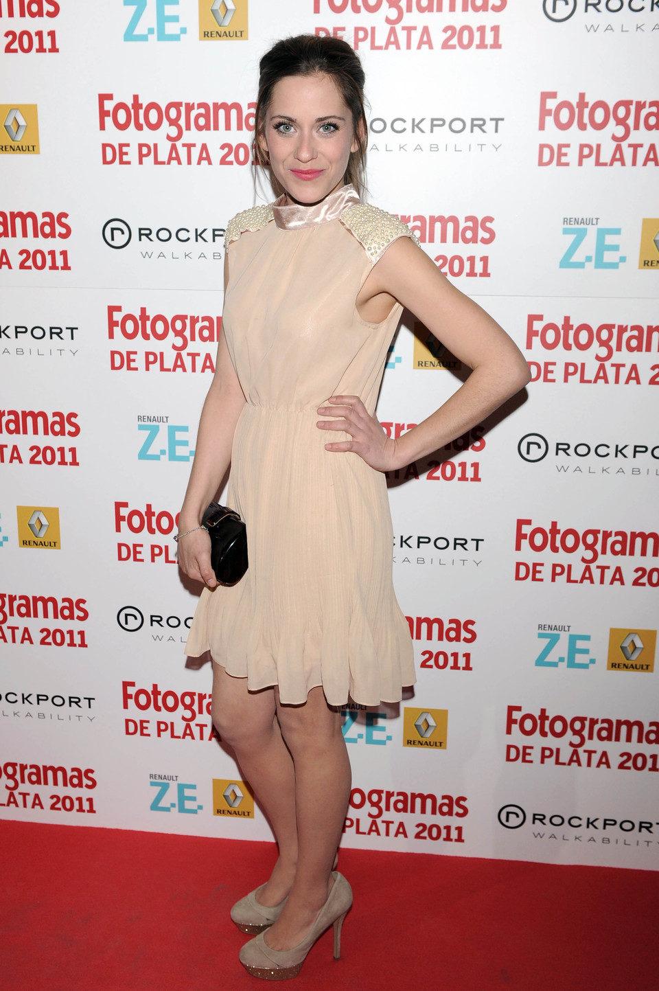 María León en los Fotogramas de Plata 2011