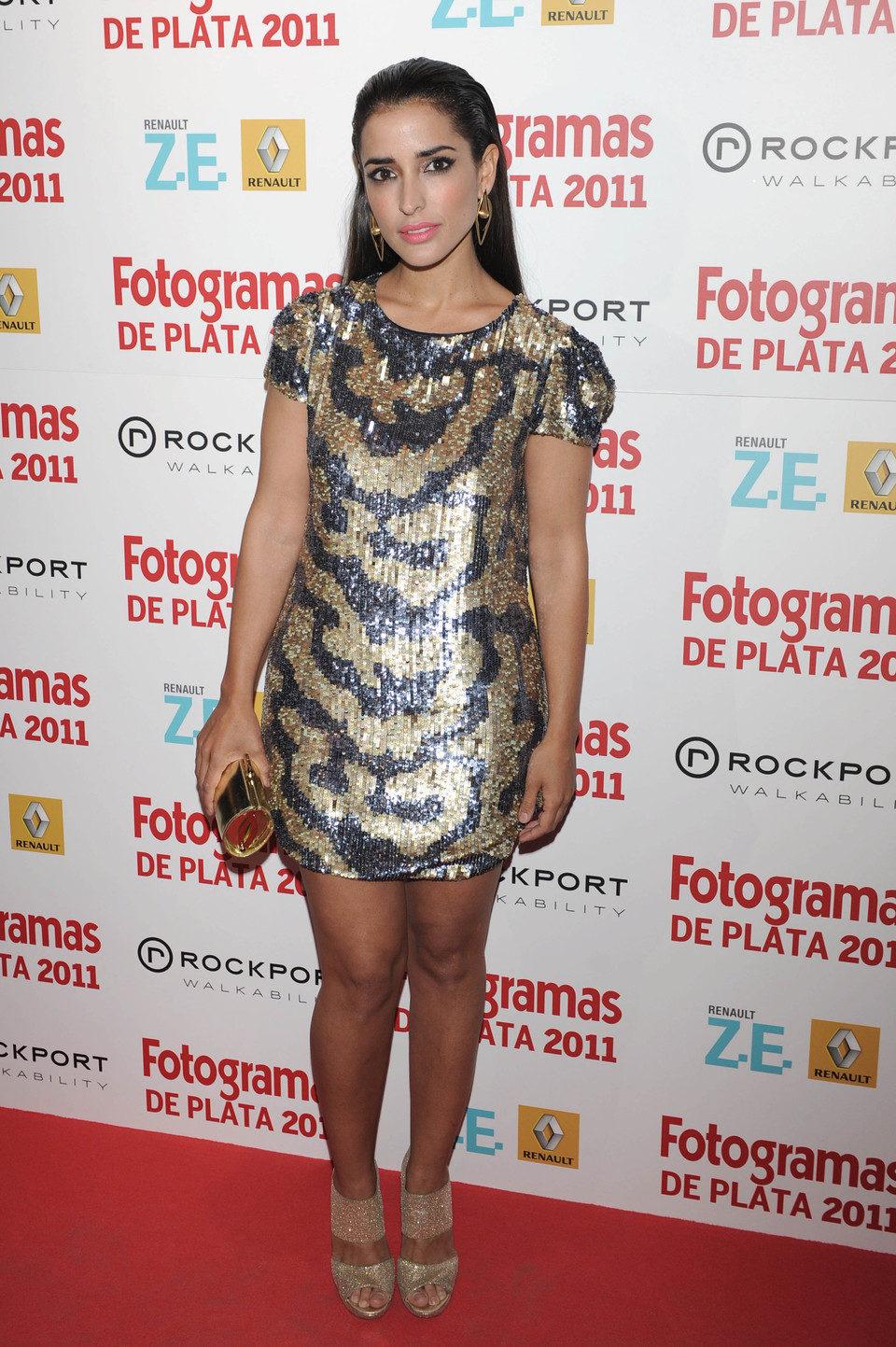 Inma Cuesta en los Fotogramas de Plata 2011