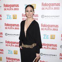 Blanca Suárez en los Fotogramas de Plata 2011