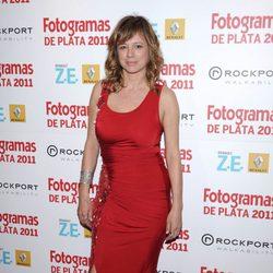 Emma Suárez en los Fotogramas de Plata 2011