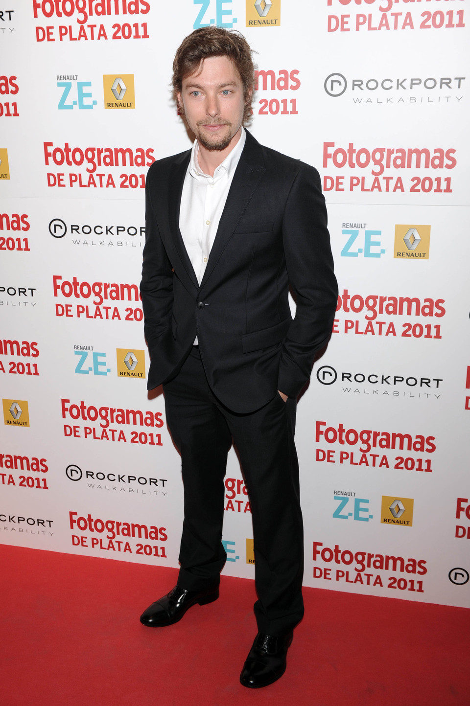 Jan Cornet en los Fotogramas de Plata 2011