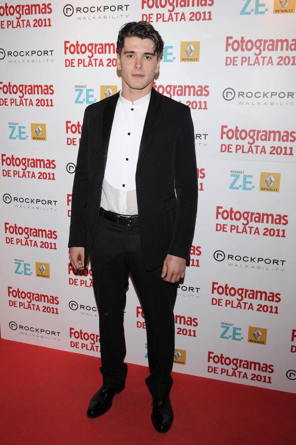 Yon González en los Fotogramas de Plata 2011