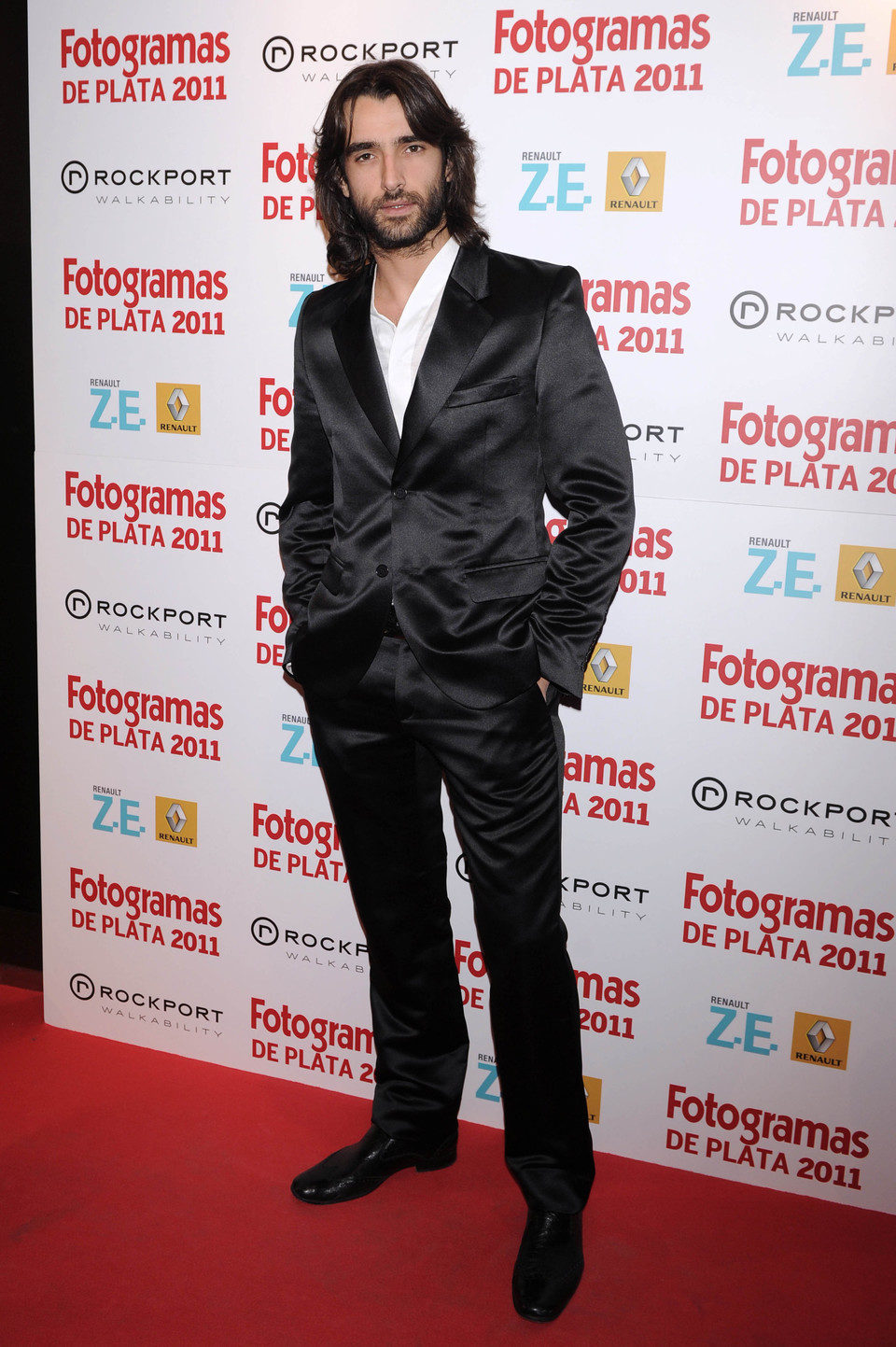 Aitor Luna en los Fotogramas de Plata 2011