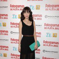 Leticia Dolera en los Fotogramas de Plata 2011