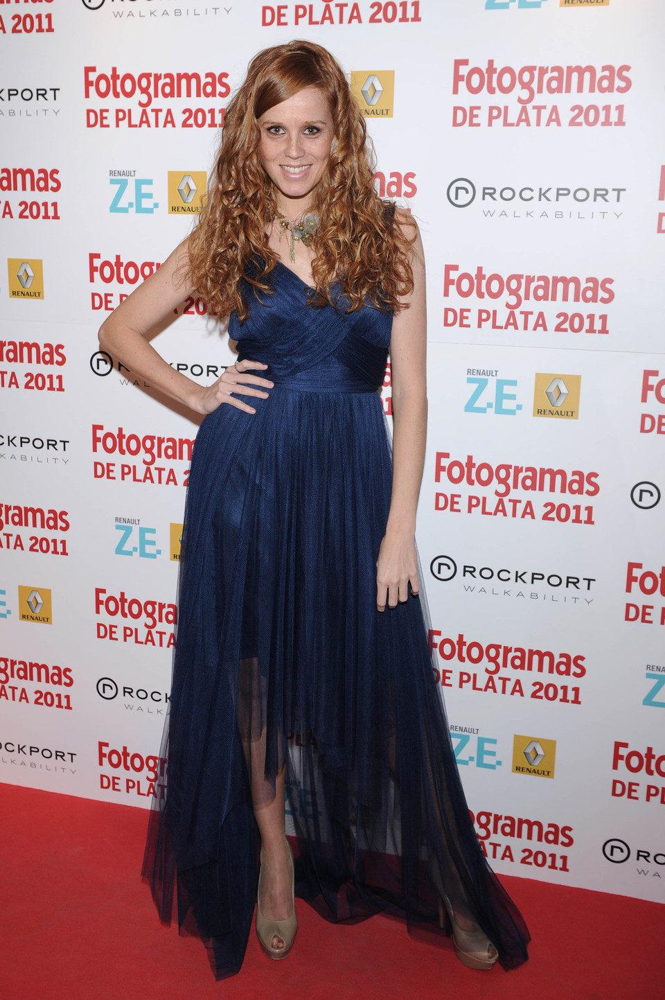 María Castro en los Fotogramas de Plata 2011