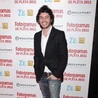 Javier Pereira en los Fotogramas de Plata 2011