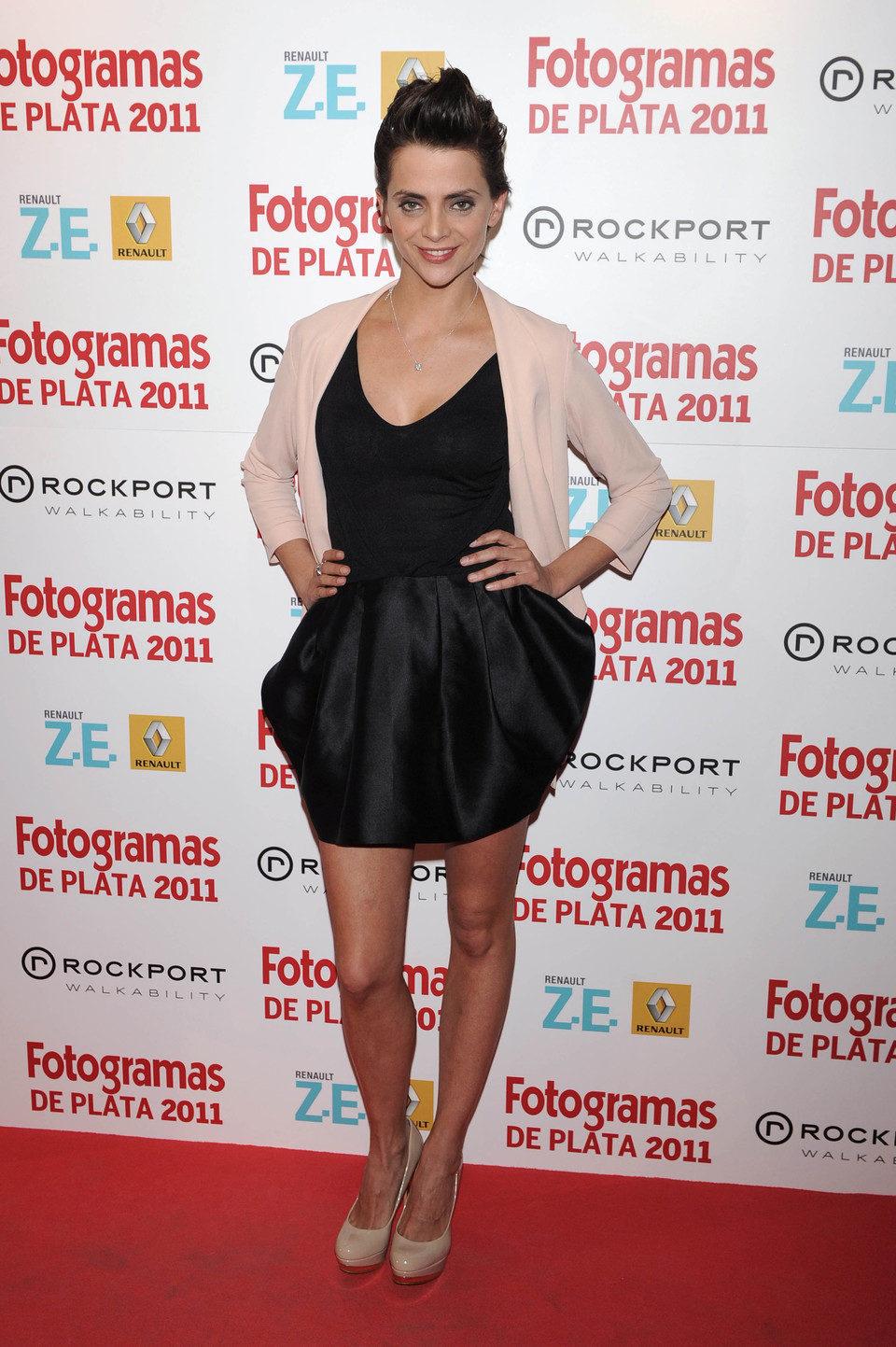 Macarena Gómez en los Fotogramas de Plata 2011