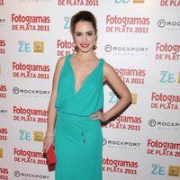 Alicia Sanz en los Fotogramas de Plata 2011