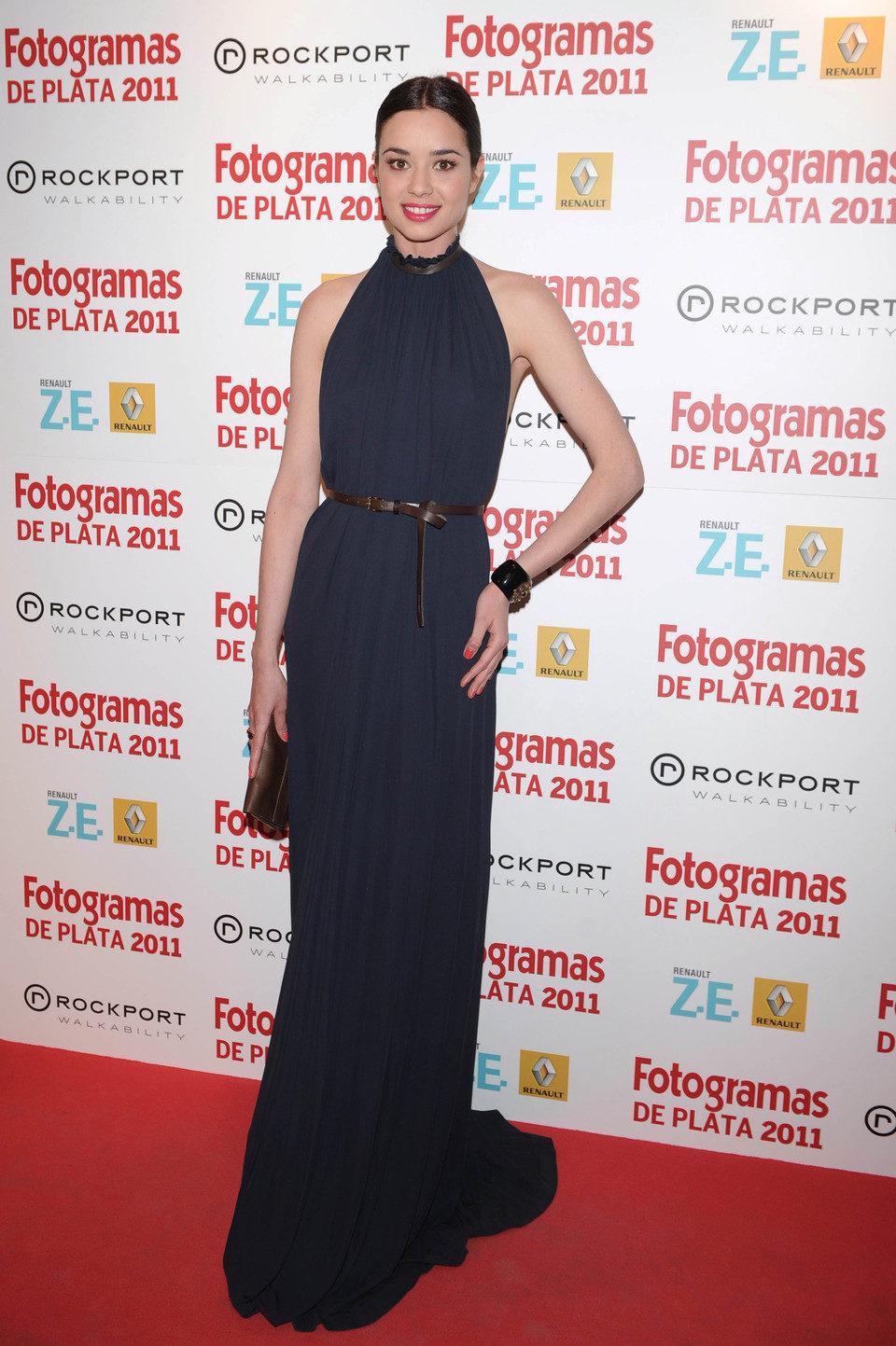 Dafne Fernández en los Fotogramas de Plata 2011