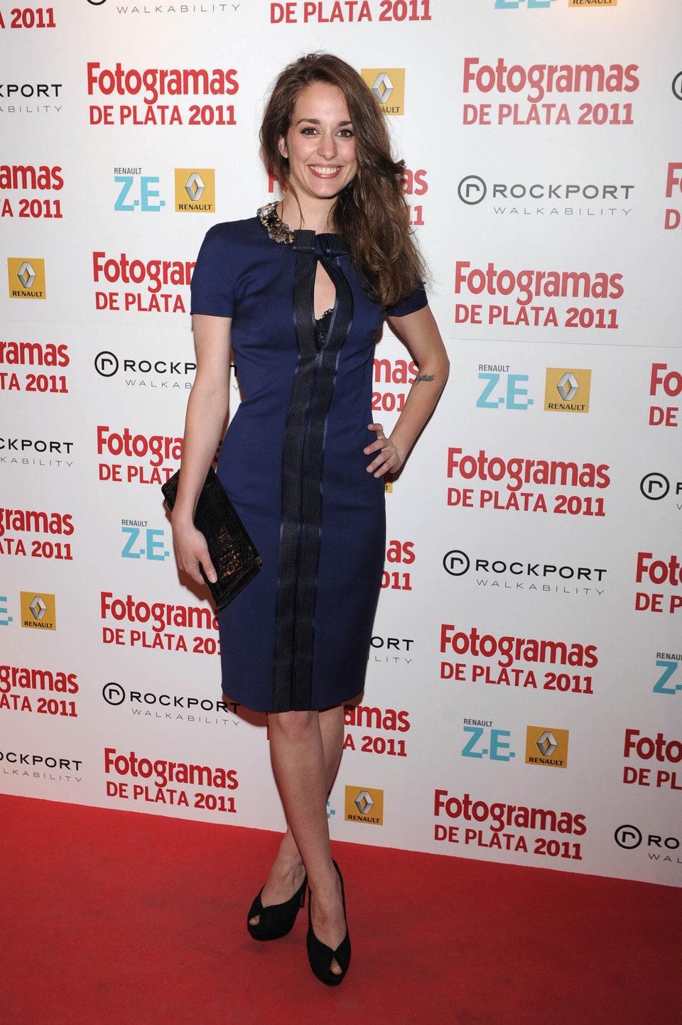 Silvia Alonso en los Fotogramas de Plata 2011