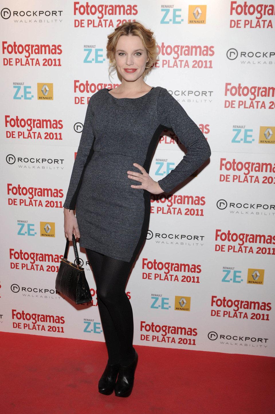Carolina Bang en los Fotogramas de Plata 2011