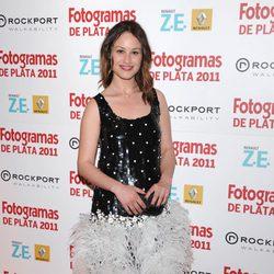 Aída Folch en los Fotogramas de Plata 2011