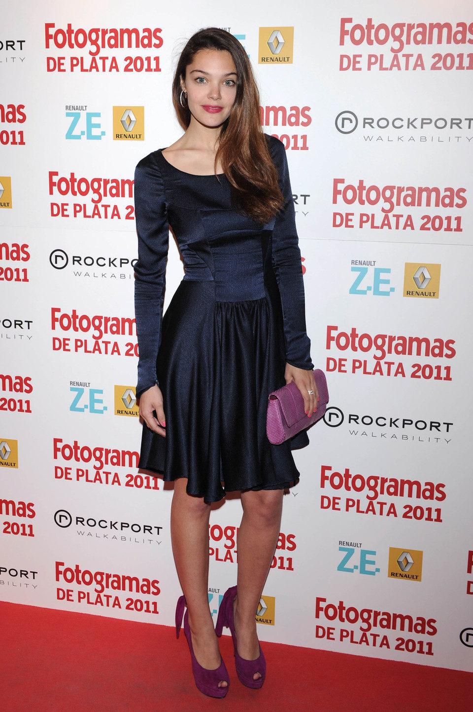 Ana Rujas en los Fotogramas de Plata 2011