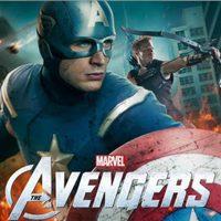 Capitán América y Ojo de Halcón en un póster de 'Los Vengadores'