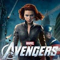 Viuda Negra y Capitán América en un póster de 'Los Vengadores'