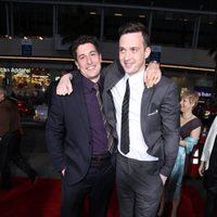 Jason Biggs y Eddie Kaye Thomas en la premiére de 'American Pie: El reencuentro'
