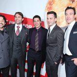 Los chicos de 'American Pie: El reencuentro' en la premiére
