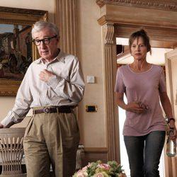 Woody Allen y Judy Davis en 'To Rome with Love'