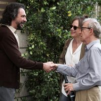 Fabio Armiliato, Judy Davis y Woody Allen en 'To Rome with Love'