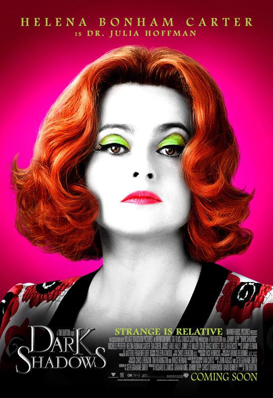 Helena Bonham Carter es la doctora Julia Hoffman en 'Sombras tenebrosas'