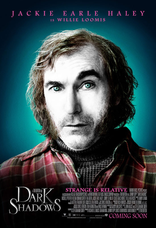 Jackie Earle Haley es Willie Loomis en 'Sombras tenebrosas'