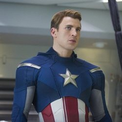 Capitán América en 'Los Vengadores'