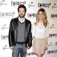 Luis Rallo y Alexandra Jiménez en el estreno de '[REC] 3: Génesis' en Madrid
