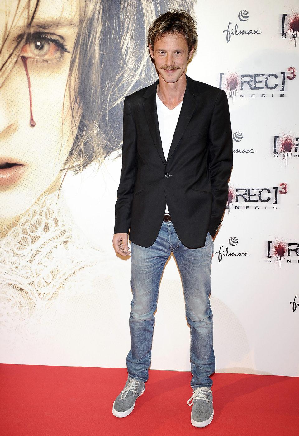Eloy Azorín en el estreno de '[REC] 3: Génesis' en Madrid