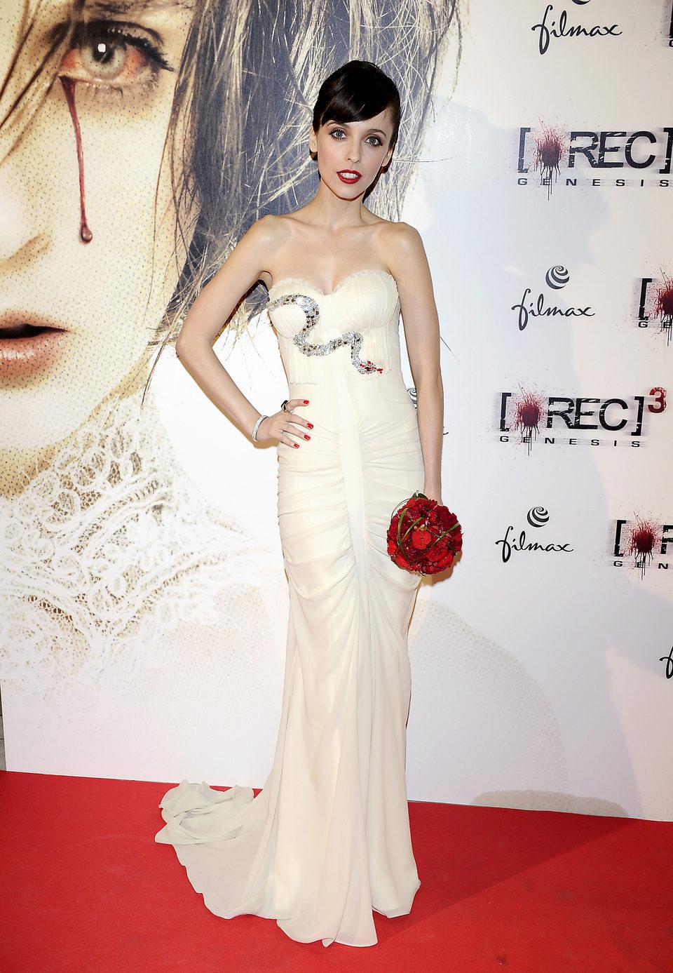 Leticia Dolera en el estreno de '[REC] 3: Génesis' en Madrid