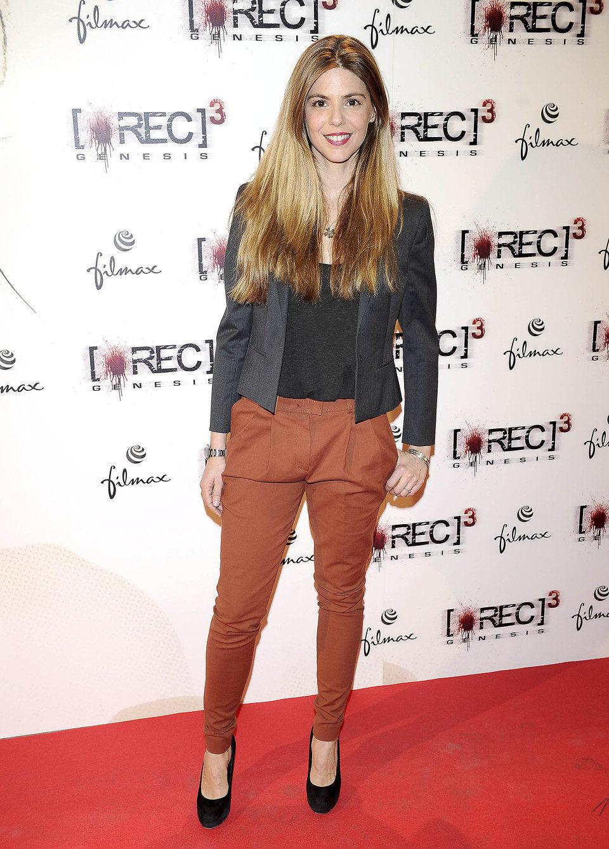 Manuela Velasco en el estreno de '[REC] 3: Génesis' en Madrid