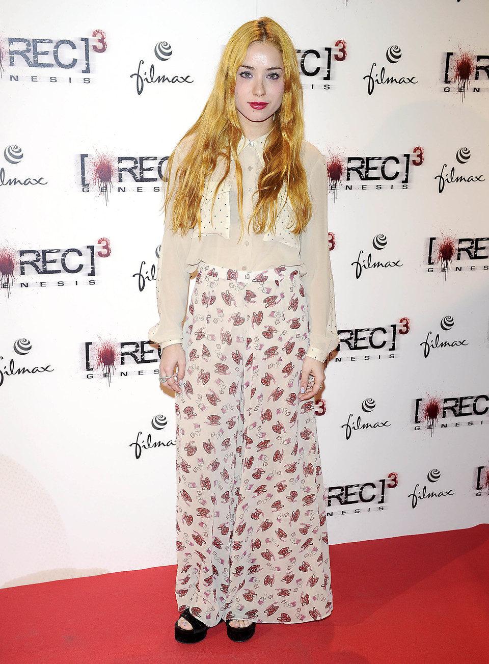 Miranda Makaroff en el estreno de '[REC] 3: Génesis' en Madrid