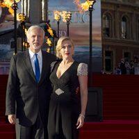 James Cameron y Kate Winslet en el estreno de 'Titanic 3D' en Londres