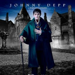 Johnny Deep como Barnabas Collins en 'Sombras tenebrosas'