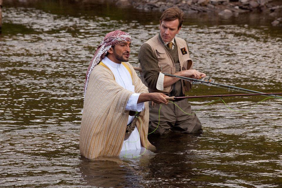 La pesca del salmón en Yemen, fotograma 22 de 41