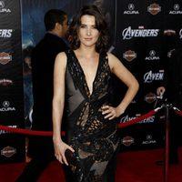 Cobie Smulders en la premiére mundial de 'Los Vengadores'