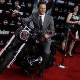Tom Hiddleston en la premiére mundial de 'Los Vengadores'