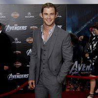 Chris Hemsworth en la premiére mundial de 'Los Vengadores'