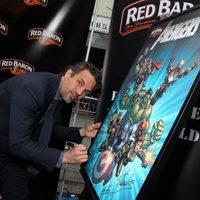 Mark Ruffalo en la premiére mundial de 'Los Vengadores'