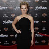 Scarlett Johansson en la premiére mundial de 'Los Vengadores'