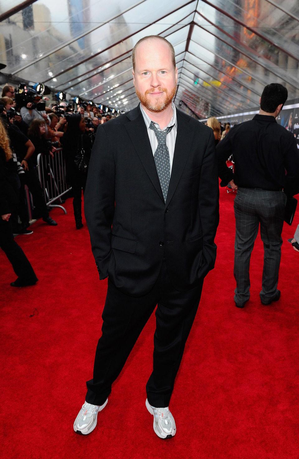 Joss Whedon en la premiére mundial de 'Los Vengadores'