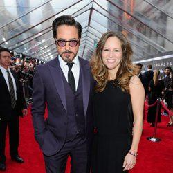Robert Downey Jr. en el estreno mundial de 'Los Vengadores'